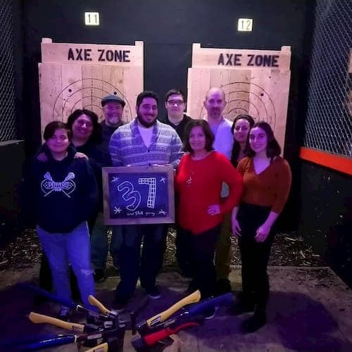 axe throwing special events near chicago